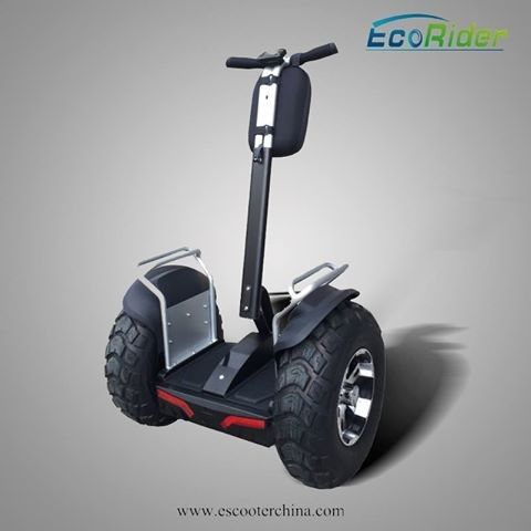 21 Inch Big Wheel Chariot segway two wheeled vehicle / Off Road Scooter with APP