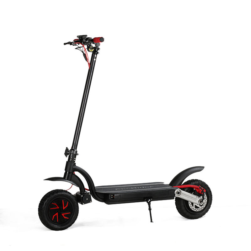 Dual Motor 2 Wheel Electric Scooter With Dual Battery Powerful 500W 1000W
