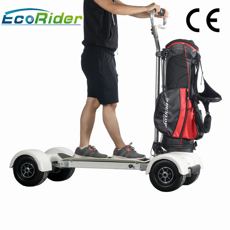 1000w Electric Ride On Golf Scooters 60-80km Mileage 4 Wheel Big Tire Electric Skateboard